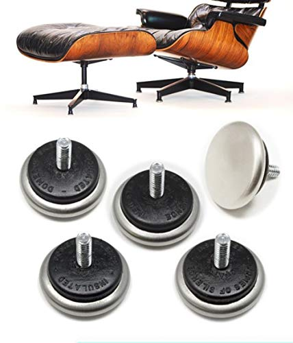 - beautifulwoman Cushioned Domes of Silence Glides for Eames Herman Miller 670 Lounge Chair