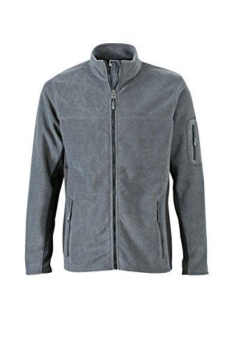 Resistente Pile Carbon Men's Misto Fleece In black Giacca Uomo Workwear Materiale Jacket wqnO717tEx