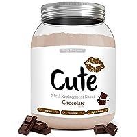 Cute Nutrition Batido Sustitutivo de Comida Sabor Chocolate para el Control de la Pérdida de Peso en Polvo Bebida…