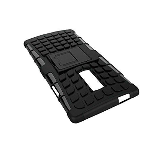 OnePlus 2 Funda,COOLKE Duro resistente Choque Heavy Duty Case Hybrid Outdoor Cover case Bumper protección Funda Para OnePlus 2 - naranja negro
