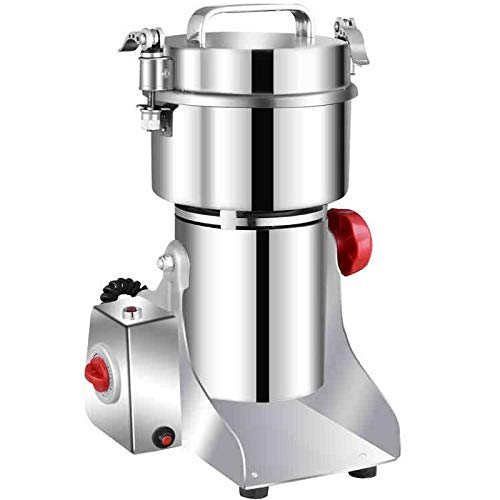 Coffee Maker 700G Stainless Steel Electric Herbal Dry Food Grinder Machine Spices Cereals Crusher Coffee Bean Grinder