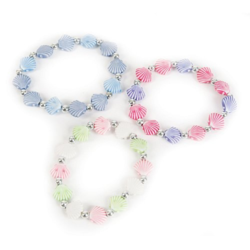 12 pack MERMAID fashion Seashell Bracelets