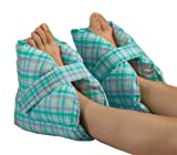 Posey Heel Pillows, Pastel Plaid - 1/Pair