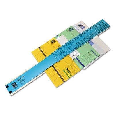 Sorter, A-Z/1-31/Jan-Dec/Sun-Sat/0-30,000 Index, Letter Size, Plastic, Blue (2 Pack) ()