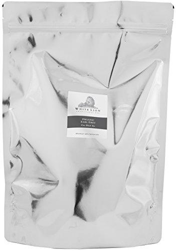 White Lion Limited – Organic Earl Grey Fine Black Tea Bulk Sachets 2-200 Count Case