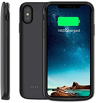 new arrival 1034f f90af Amazon.com: Moonmini Compatible iPhone Xs Max Battery Case, Battery ...