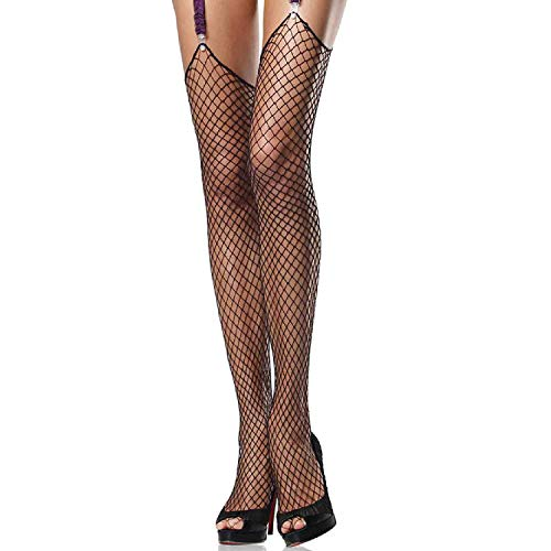 (Leg Avenue Womens Unfinished Top Industrial Fishnet Stockings)
