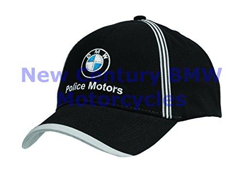 BMW Genuine Motorcycle Motorrad Unisex Police Motors Hat Cap Black One - Cap Bmw Classic