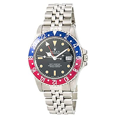 Rolex GMT Master Automatic-self-Wind Male Watch 16750 (Certified Pre-Owned) from Rolex