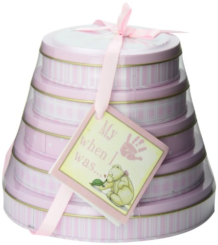 Child to Cherish Handprints Tower Of Time Kit in Pink by Child to Cherish (Image #3)