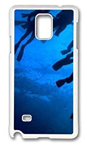 Adorable Divers Paradise Hard Case Protective Shell Cell Phone Iphone 5C - PC White
