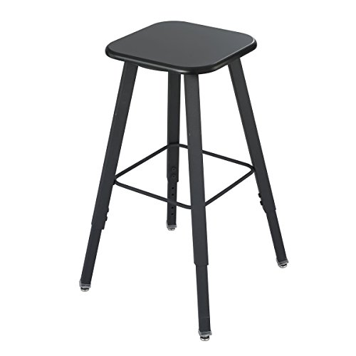 Safco AlphaBetter Stool - Black (seat);Black (frame) electronic consumers ()