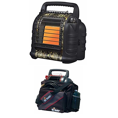 Regulator System Double Bag (Mr. Heater Hunting Buddy Portable Heater w/Water Resistant 9BX Buddy Carry Bag)