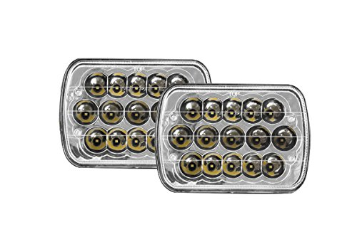 7x6 led halo headlights - 1
