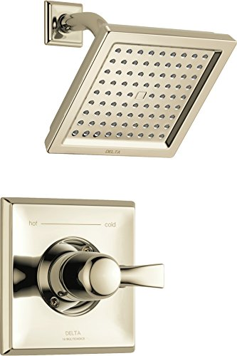 Delta Faucet T14251-PN-WE Dryden Monitor 14 Series Shower Trim, Polished Nickel - Dryden Series