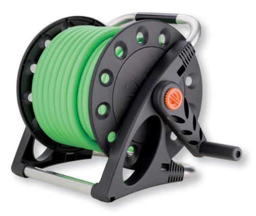 Claber 8884 Aquapony Compact Garden Hose Reel with 50-Feet 1/2-Inch Hose