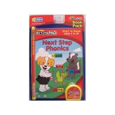 Active Pad Next Step Phonics Interactive Book and Cartridge: Toys & Games