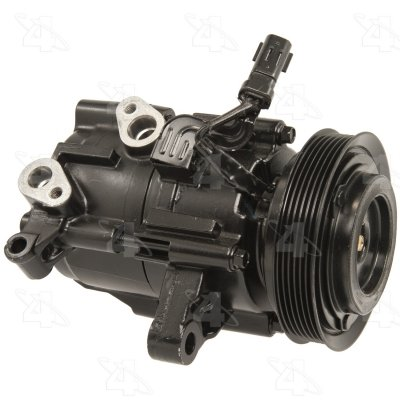 Four Seasons 67184 Remanufactured A/C Compressor with (Hd A/c Compressor Clutch)