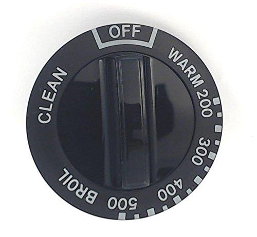 kenmore knobs black - 1