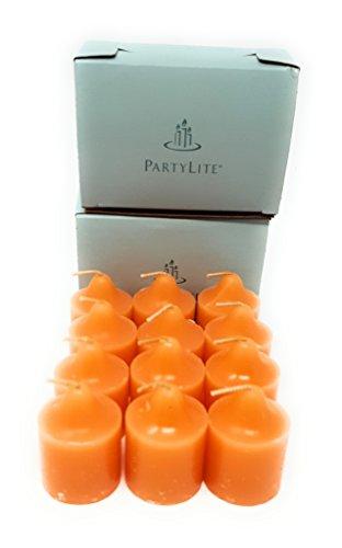 PartyLite Universal Scented Fruit Votives 1 Dozen (Tangelo Mojito)