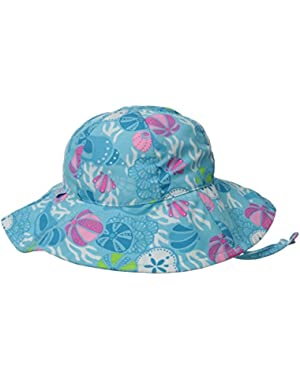 Baby Girls' Mod Brim Sun Protection Hat