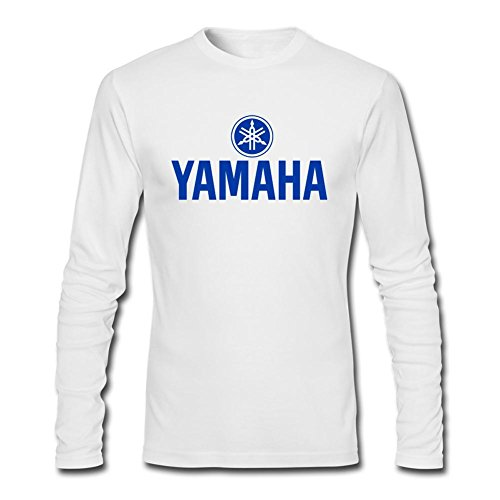 Kittyer Men's Yamaha Motor Racing Long Sleeve Cotton T Shirt