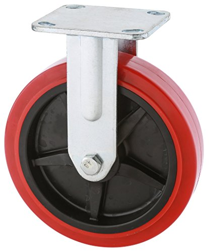 Steelex D2573 8-Inch Fixed Heavy Duty Industrial Wheel