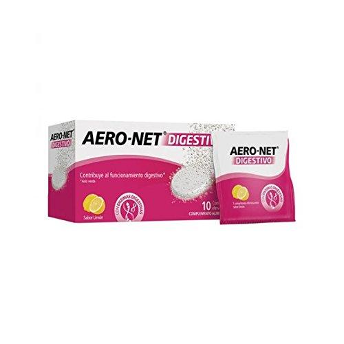 Aero-net digestivo 10 comprimidos efervescentes.: Amazon.es: Salud y cuidado personal
