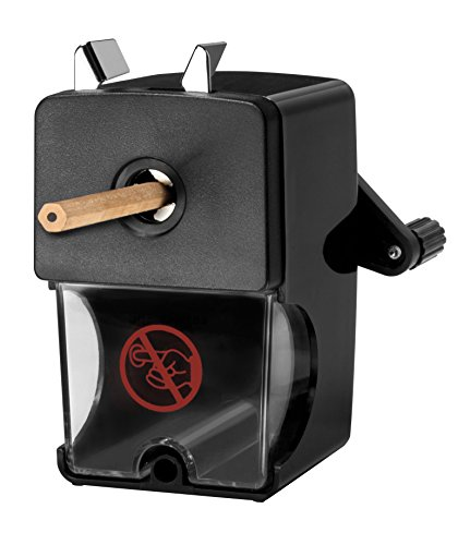 Westcott E-14216 00 – Afilador Para Lápices, Diámetro 7-12mm, Color Negro