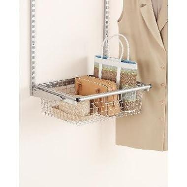 Rubbermaid 3J05 Configurations Sliding Wire Basket, Titanium(FG3J0501TITNM)