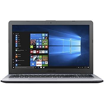 """ASUS VivoBook 15"""" Laptop, Intel Core i7-8550U Processor (up to 4.0 GHz), 8GB DDR4 RAM, 256GB SSD, 15.6"""" Full HD Display; 802.11ac Wi-Fi, Fingerprint Reader, DVD Drive, F542UA-DB71"""