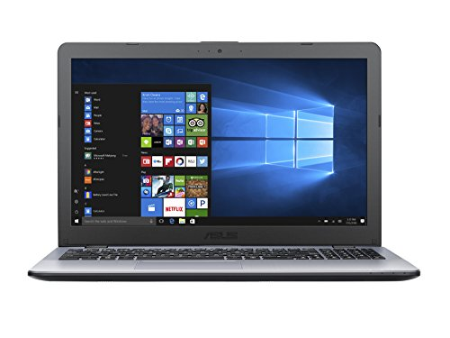 Asus 15.6″ VivoBook 15 X542BA-DH99 LCD Notebook AMD A-Series A9-9420 Dual-Core 3GHz 8GB DDR4 SDRAM 1TB HDD Windows 10 64-bit Tru2Life Dark Gray Silver Model 90NB0H92-M00020