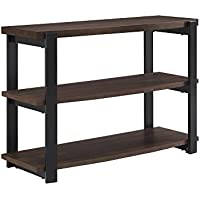 Ameriwood Home Castling Console Table, Espresso