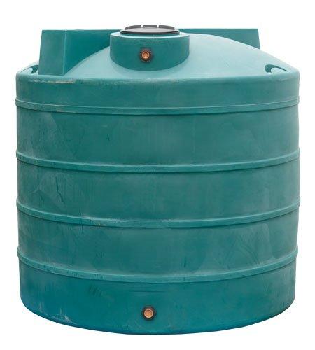 300 Gallon Rain Harvest Collection Tank, (Black)