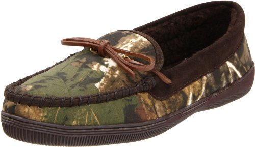 Tamarac by Slippers International Men's Camo Moccasin,Camouflage,8 D US