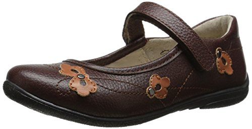 umi Alexa Uniform Mary Jane (Little Kid/Big Kid), Chocolate, 26 EU(9 M US Toddler) by umi