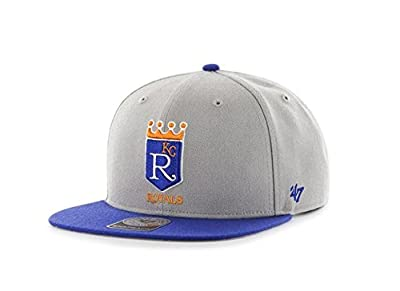 Kansas City Royals '47 Brand Sure Shot Two Tone Adjustable Snapback Hat from 47 Brand, LLC