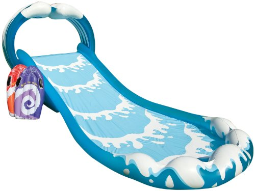 Outdoor Water Play (Intex Surf 'N Slide Inflatable Play Center, 174