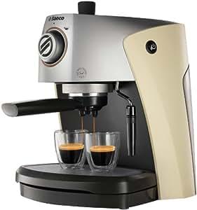 Saeco Nina Plus Cappuccino, Beige, Plata, 1050 W, 230 V, 50 Hz, 270 x 300 x 350 mm, 4100 g - Máquina de café