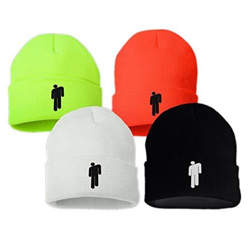 KAIMANLI Billie Eilish Merch Beanie Lovely Knit Hat Stretchy Cap for Men Women