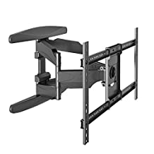North Bayou Articulating Full Motion Cantilever Wall Mount P6 for Flat Panel TV Screens 40'' -70 inch upto 100 lbs