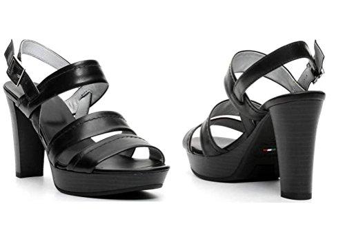 Nero Giardini - Sandalias de vestir de Piel para mujer negro