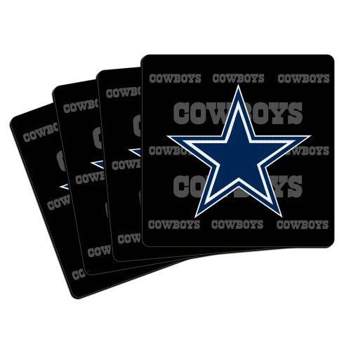 NFL Dallas Cowboys Neoprene Coaster, 4-Pack