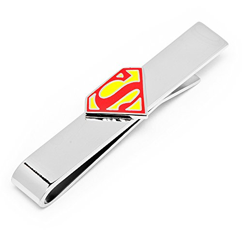 DC+Comics Products : Officially Licensed Superman Logo Sliding Tie Bar DC Comics