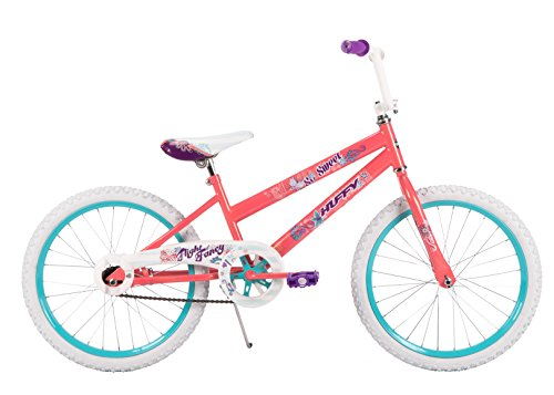 (20-inch Huffy So Sweet Girls' Bike, Coral Pink)