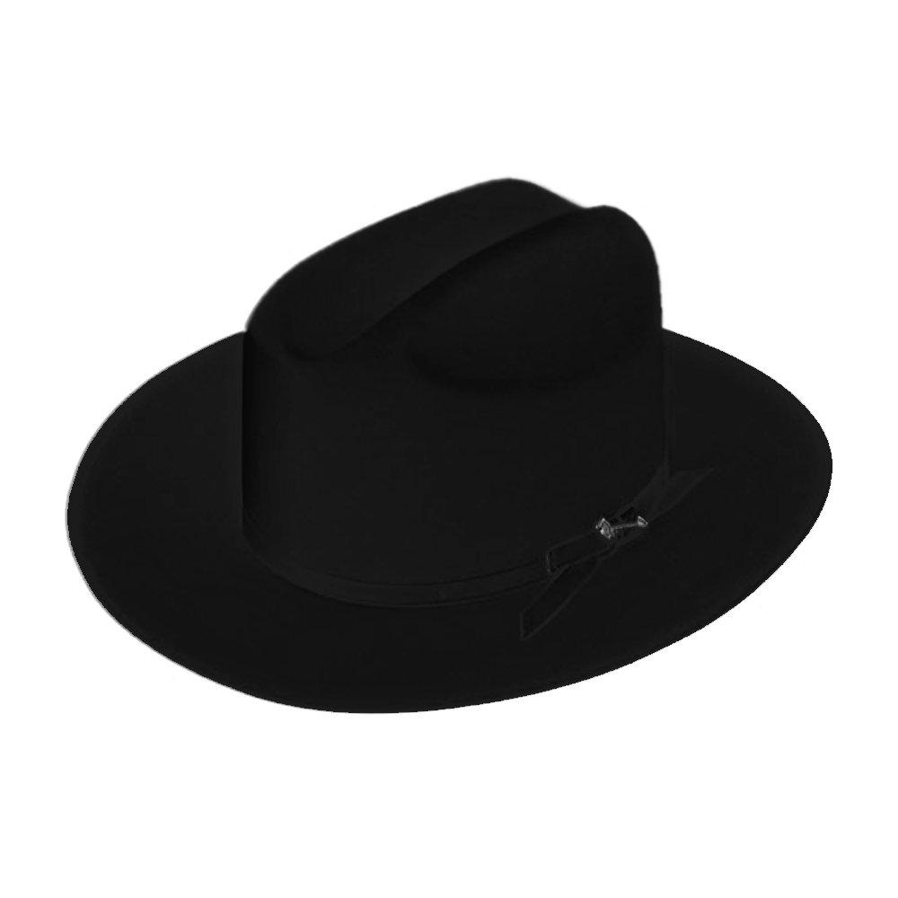 Stetson Open Road Fur Felt Hat (7 5/8, Black)
