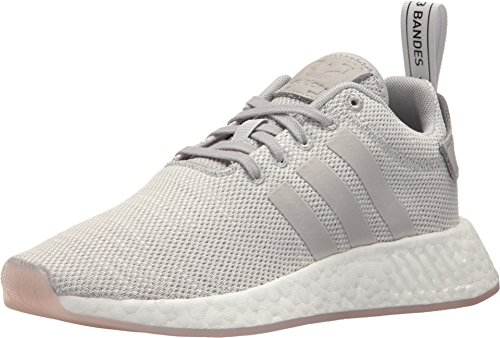 Adidas Lifestyle Shoes - adidas Originals Women's NMD_R2 Grey/Crystal White 8.5 B US