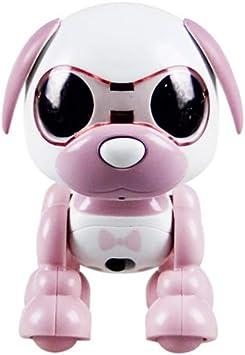 Robot Dog Smart Early Education Smart Touch Voice Robot el/éctrico Perro para Regalo Juguete para ni/ños