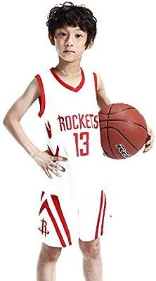 Ropa de Baloncesto para niños - Trajes de Baloncesto James Harden ...