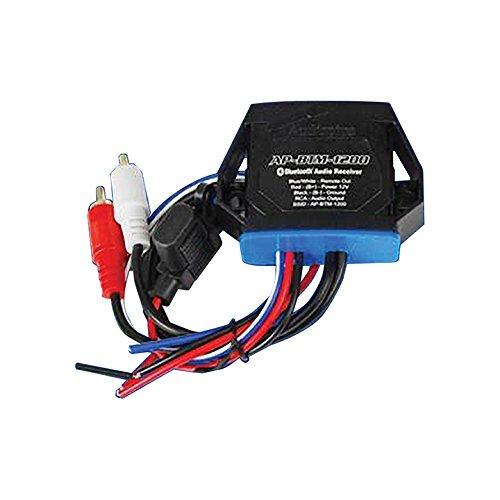 Audiopipe APBTM1200 Marine Bluetooth Audio Receiver Converts